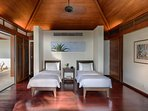 Villa Ananda - Guest twin bedroom