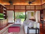 Villa Ananda - TV and study room