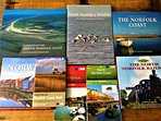 Excellent library of local interest books, walking guides and maps