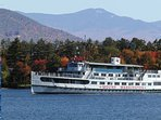 Mount Washington Cruises offers scenic cruises - only 3 miles away from the cottage!