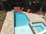 Hot Tub, Pool with plenty of Sun