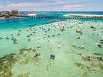Crab Island is One of The Most Famous Attractions in Destin, FL