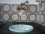 particolare vasca esterna lavabo