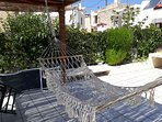 Enjoy the PRIVATE ROOF-TOP TERRACE of FEDRA apartment