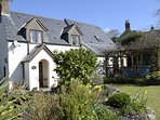 Brookside Cottage garden