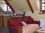 2 The Granary holiday cottage in Brighstone - first floor living area