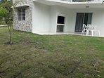 Casas estilo Piedra 2 ambientes - Base 2 personas (hta 4 huespedes): Galería con parrillero