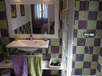 Baño del dormitorio principio