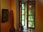 Fachwerkhof Gödringen Ausstattung mit Holz - Verbundsprossenfenster