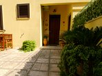 Private entrance to your ground floor holiday home in Otranto
