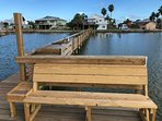 Your own 200' private lighted fishing pier on Copano Bay