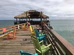 The Rikki Tiki Bar & Restaurant at the end of the Pier are well worth a visit!
