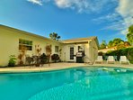 Grand home with pool in Gulf Gate Estates of Sarasota