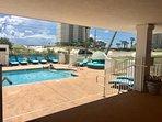Plush new pool furniture