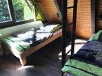 Schlafzimmer Gartenseite