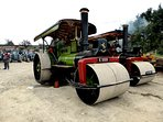 The opportunity to view our private collection of steam engines and vintage tractors