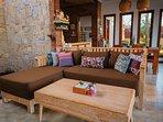 Spacious open living area