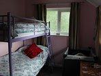 Twin room cot if req
