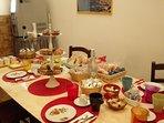 La colazione a Casa Mariella