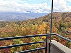 Another view of leaf peeping from the balcony