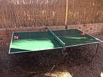 Mesa de ping pong, para los tiempos libres...