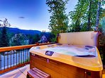 Hot tub soak anyone?