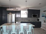 Brand NEW Kitchen and appliances and driftwood light fixture to provide ambience