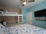 Bedrooms have a smart 43' TV for additional entertainment options.