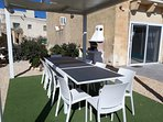 Outdoor furniture with a new fully