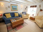 A very comfortable lounge in Wayside Cottage