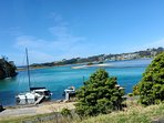 THE BOATHOUSE IS OPPOSITE THE BEAUTIFUL PRISTINE  NAROOMA INLET.