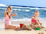 Miles of sandy beaches to explore
