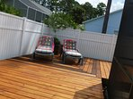 Decking to catch some sun