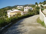 Our country road gives access to several other well spaced private houses.