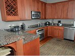Outstanding kitchen, fully equipped with all you'll need for grand dining.