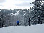 Miles of ski and snowboard terrain. Night skiing, too.