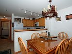 Excellent kitchen, fully stocked. Enjoy family meals together.