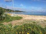 Spiaggia sabbiosa più vicina