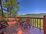 NEW! Secluded Blue Ridge Cabin w/ Mountain Views!