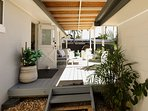 Tropical outdoor living