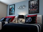 AVENGERS create a perfect retreat for young or old heroes to rest on comfortable twin/double beds!