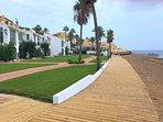 New Costa Del Sol Boardwalk. Steps away from Beach-House