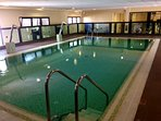 Indoor pool and gym area ( over 16 years )