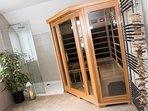 Make use of the twin Sauna.