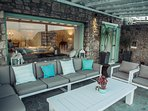 Outdoor sitting lounge