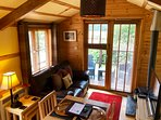 Bramble Lodge - Living Room