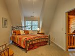 Get the perfect night's rest on the king bed in the fourth bedroom.