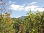 View of the Smoky Mountains at Moonbeams & Cabin Dreams