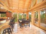 Dining Room Area at Moonbeams & Cabin Dreams