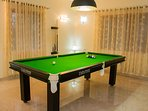 Guests can indulge in the Indoor Pool Table.